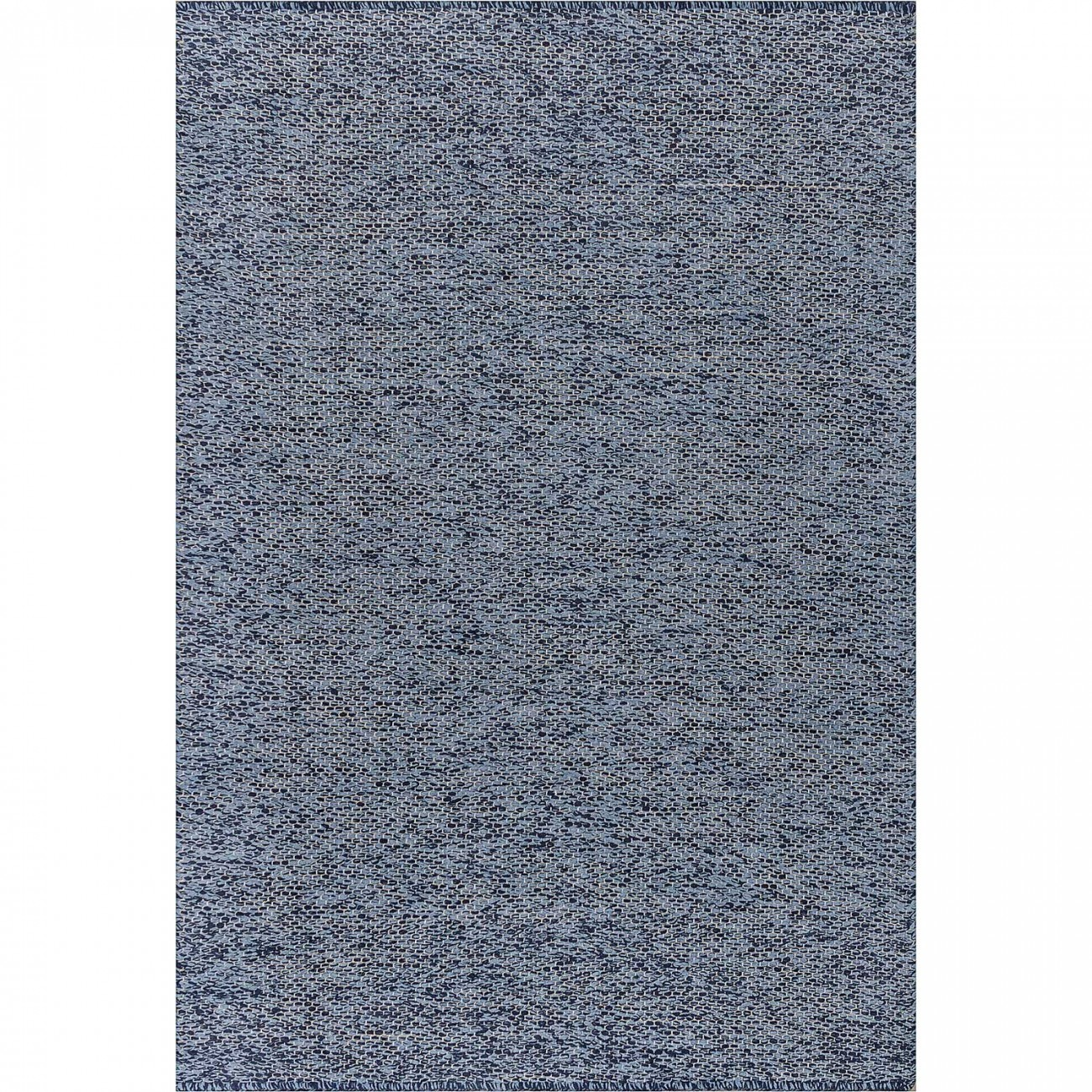 Tapete Tear Encorpado Azul Mesclado 100x150