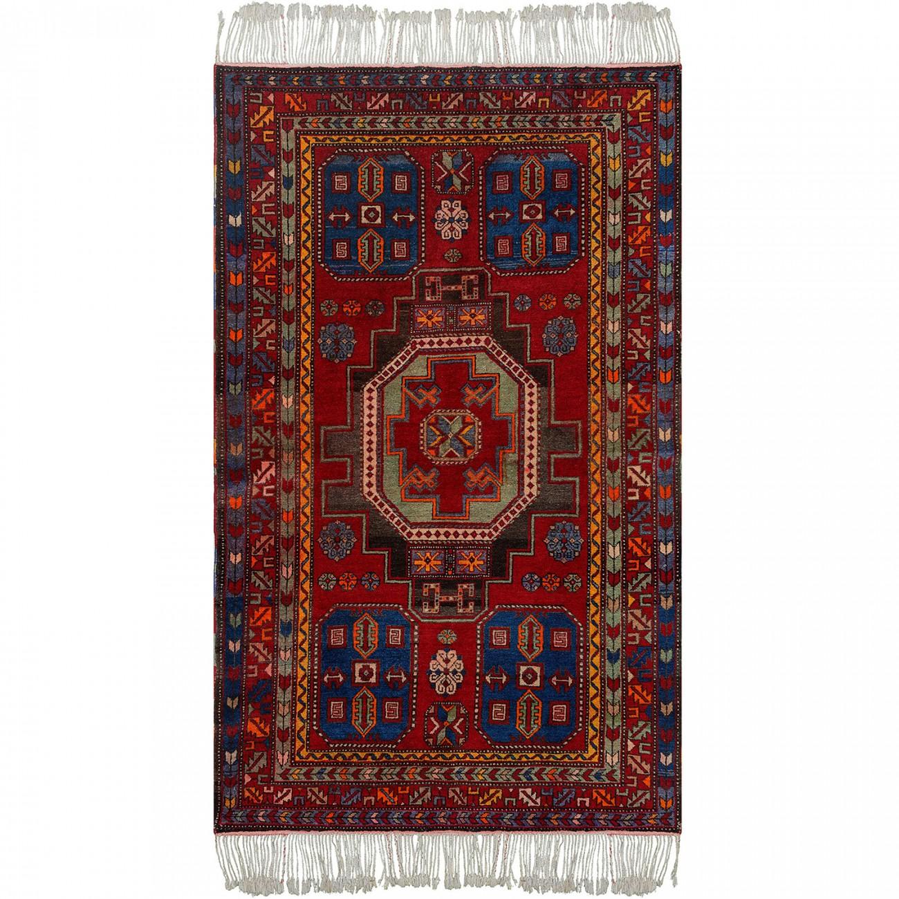 Tapete Persa Kazak Antigo  132x213