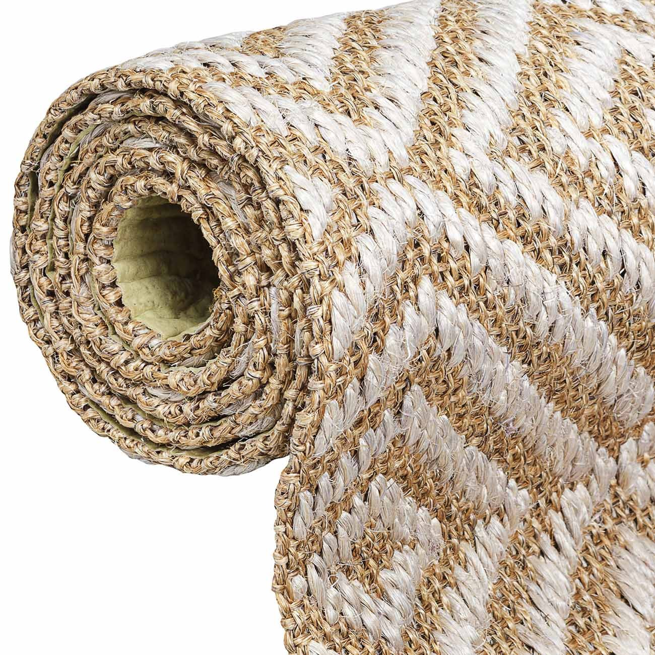 Tapete Sisal Diamante 080x200