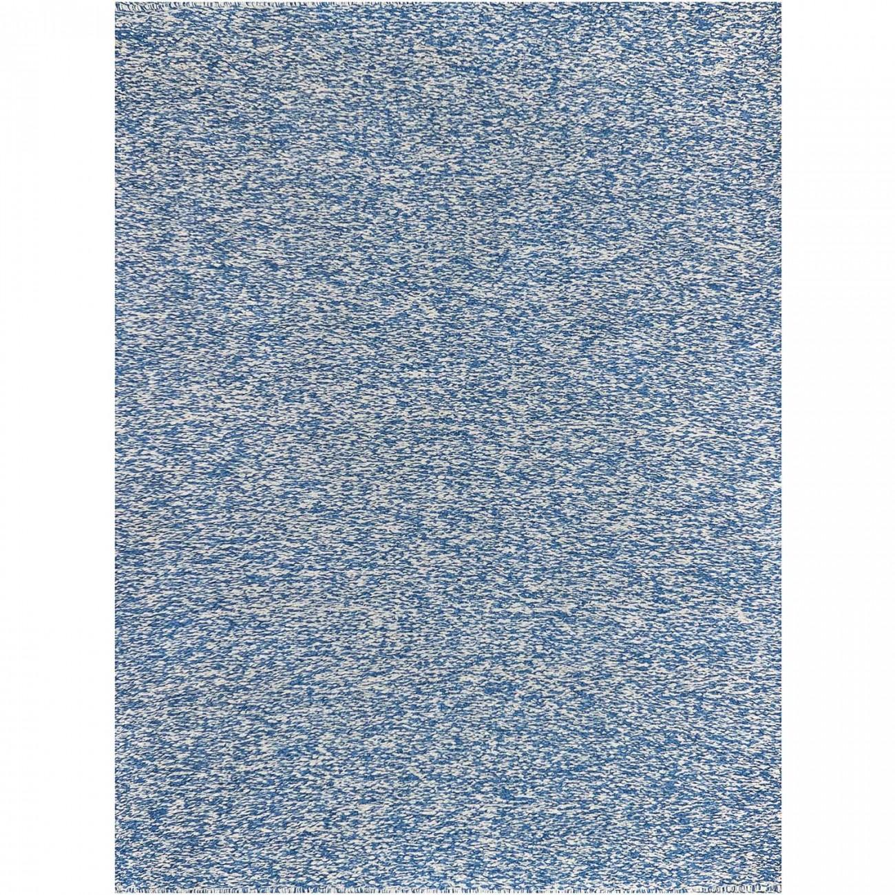 Tapete Tear Azul e Cru 150x200