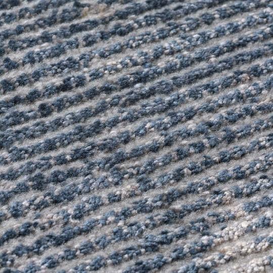 Tapete Lustrous Azul 140x200