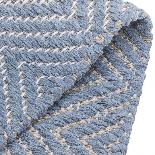 Tapete Tear Escama de Peixe Azul 250x250