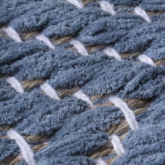 Tapete Tear Escama de Peixe Azul 400x600