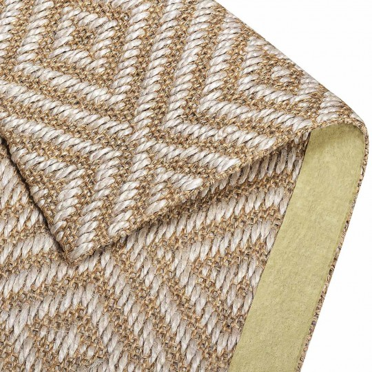 Tapete Sisal Diamante 100x500