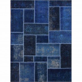 Tapete Reload Patchwork Azul