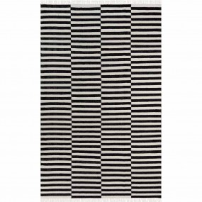 Tapete Kilim Stripes B&W